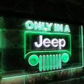 Jeep Duo LED Sign