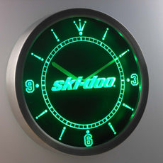 Ski-doo LED Wall Clock