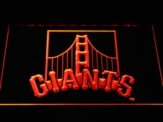 San Francisco Giants 2 LED Sign