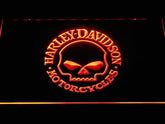 Harley-Davidson Skull LED Sign