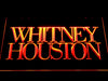 Whitney Houston LED Sign