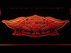 Harley-Davidson Queen Of The Road LED Sign