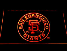 San Francisco Giants LED Sign