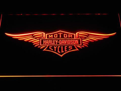 Harley-Davidson Wings LED Sign