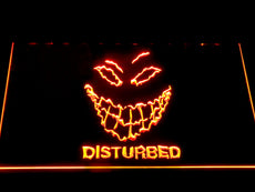 Disturbed LED Sign