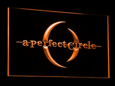A Perfect Circle LED Sign