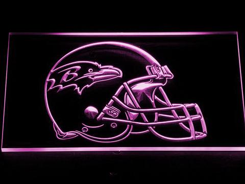 Baltimore Ravens Helmet LED Sign