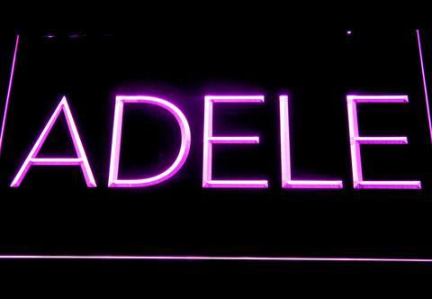 Adele LED Sign