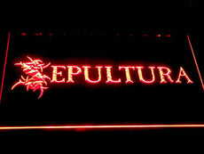Sepultura 2 LED Sign
