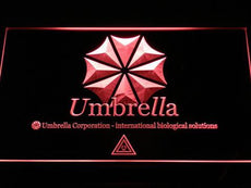 Resident Evil Umbrella Corporation LED Sign