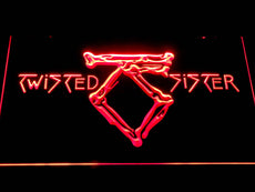 Twisted Sister LED Sign