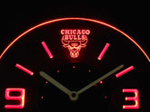 Chicago Bulls LED Clock