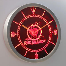 Rise Against LED Wall Clock