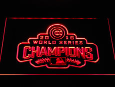 Chicago Cubs 2016 Champion Logo LED Sign