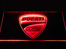 Ducati Corse LED Sign