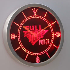 Full Tilt Poker LED Wall Clock