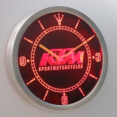 KTM LED Wall Clock
