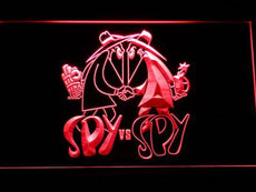 Spy Vs Spy LED Sign