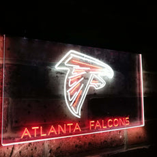 Atlanta Falcons Duo LED Sign