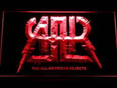 The All-American Rejects LED Sign