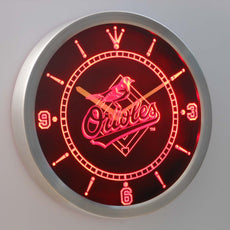 Baltimore Orioles LED Wall Clock
