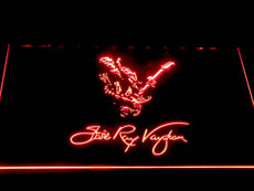 Stevie Ray Vaughan LED Sign