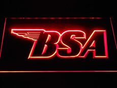 BSA 3 LED Sign