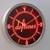 Deftones LED Wall Clock