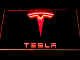 Tesla LED Sign
