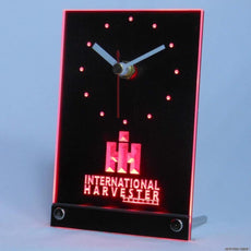 International Harvester LED Desk Clock