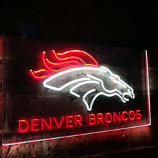 Denver Broncos Duo LED Sign