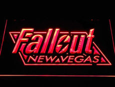 Fallout New Vegas LED Sign
