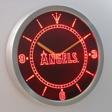 Los Angeles Angels of Anaheim LED Wall Clock