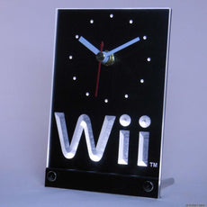 Nintendo Wii LED Desk Clock
