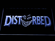 Disturbed 2 LED Sign