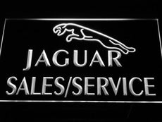 Jaguar Sales And Service LED Sign