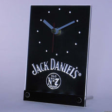 Jack Daniel's Old Number 7 LED Desk Clock