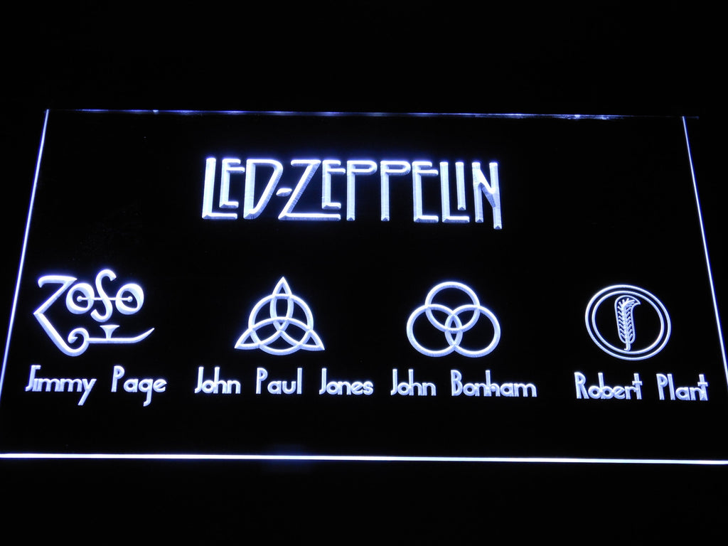 Led Zeppelin 3 LED Sign
