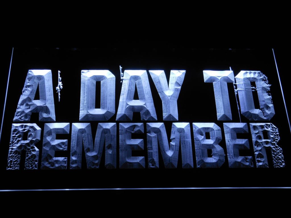 A Day to Remember 3 LED Sign