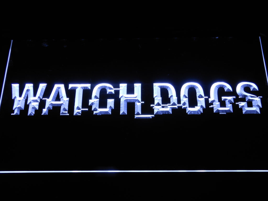Watch Dogs LED Sign