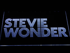 Stevie Wonder LED Sign