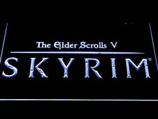 Skyrim The Elder Scrolls LED Sign