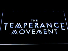 The Temperance Movement LED Sign