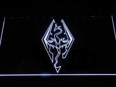Skyrim Dragon Logo LED Sign