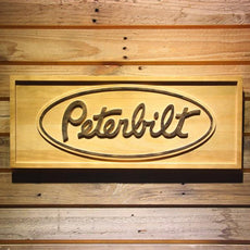 Peterbilt Wooden Sign