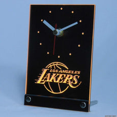 Los Angeles Lakers LED Desk Clock