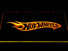 Hot Wheels LED Sign
