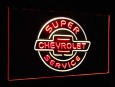 Chevrolet Super Service Duo LED Sign
