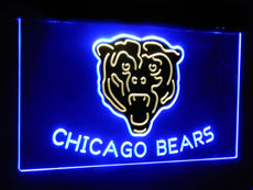 Chicago Bears Duo LED Sign