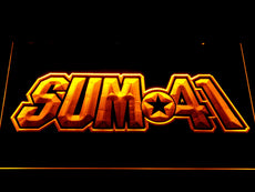 Sum41 LED Sign